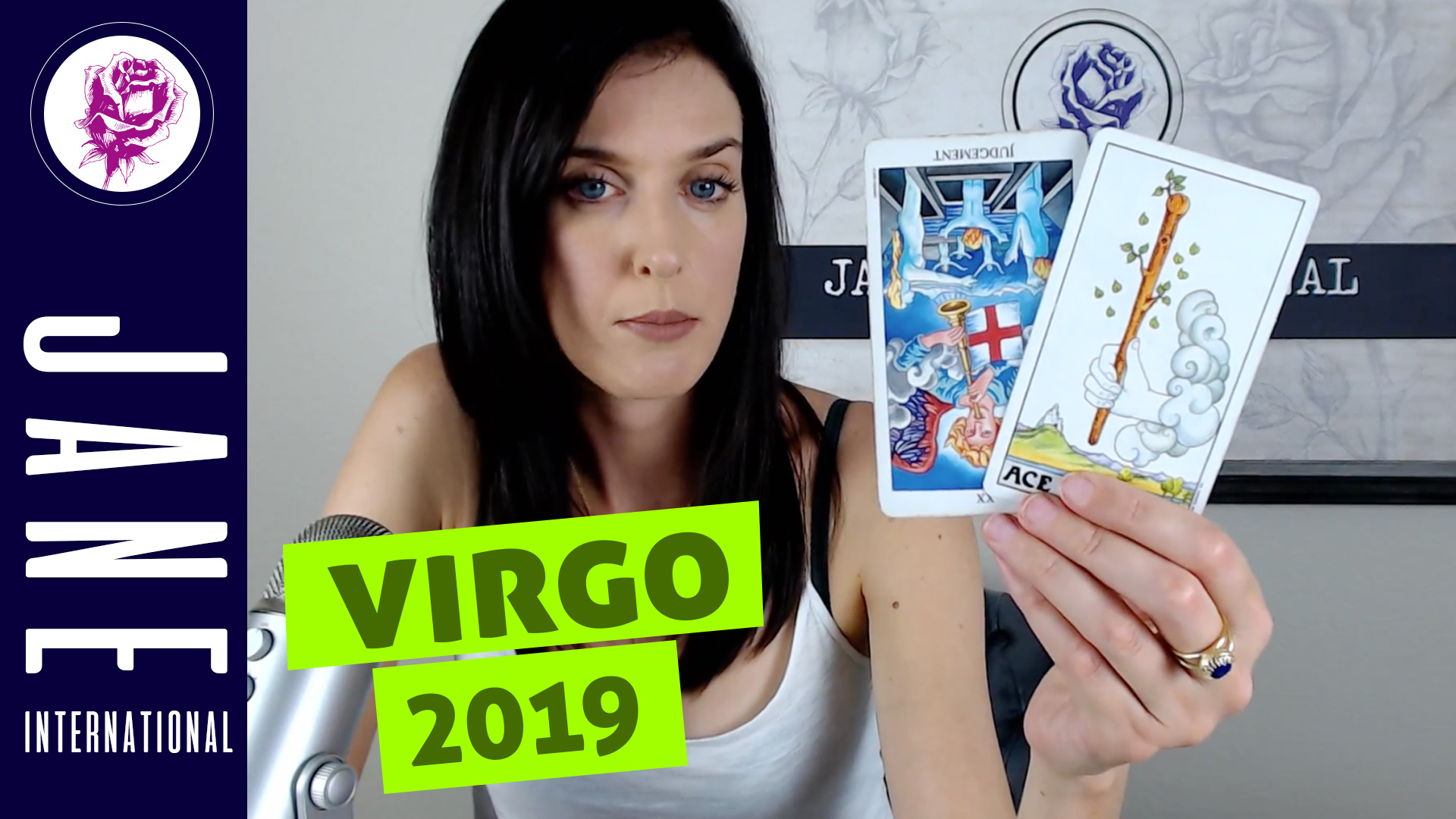 international tarot virgo